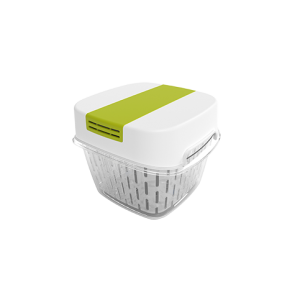 Dėžutė šviežiems produktams, FRESH dynamic, 1.6L, baltos sp.
