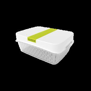 Dėžutė šviežiems produktams, FRESH dynamic, 6.4L, baltos sp.