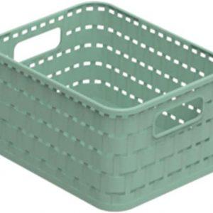 Dėžė Rotho COUNTRY, A4, 18L, žalios sp.